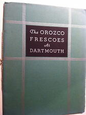 BOOKLET THE OROZCO FRESCOES AT DARTMOUTH 1934