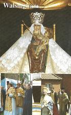 WALSINGHAM POSTCARD (VINTAGE) HOLY HOUSE IMAGE & PILGRIMAGE PROCESSIONS -