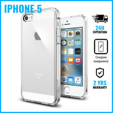 Transparent Cas Clear Hard Case Cover Etui Coque Hoesje For iPhone 5
