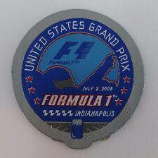 2006 Formula-1 USGP Event Emblem Patche Indy Michael Schumacher Ferrari