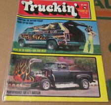 Truckin' Magazine - September 1975 Volume 1, No 4 - 4x4 Van Truck rare vintage