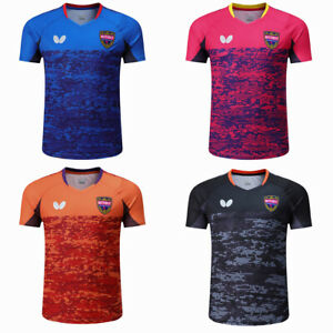 New Men Badminton T-Shirts table tennis clothes Polyester Sport Tops