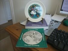Wedgewood Collectors Plate Children's Story 1974 The Ugly Duckling