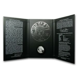 2011 U.S. Mint Platinum Proof American Eagle Coin/Preamble Series/West Point