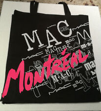 MAC COSMETICS - LIMITED EDITION LINED CANVAS TOTE BAG - MONTREAL PRIDE 2018