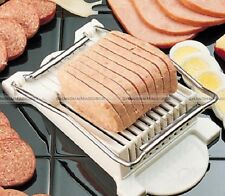 Spam Luncheon Meat Slicer Cutter Stainless Steel Blades Musubi Vegetables