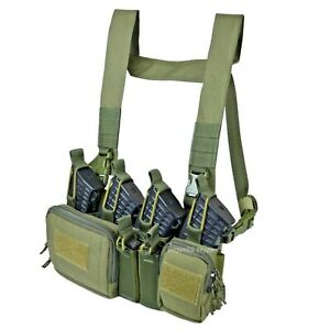 Russian Tactical Chest Rig Scout D3 Olive