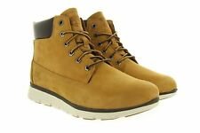 Timberland 6 inch Killington Wheat Leather Boots with Laces and Zip