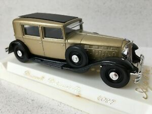 Renault Reinastella - Gold & Black, Solido Age D'or 4097 - Boxed