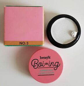 Benefit Boi-ing Airbrush Concealer Travel Size 1.6g  No 3 Brand New Boxed