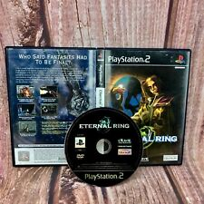 Ps2 video Game Eternal Ring PlayStation 2 in case role play adventure no manual