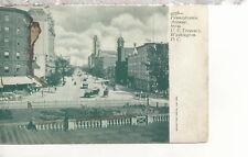 Pennsylvania Avenue From Treasury    Washington D.C.  UDB    Postcard 3137x
