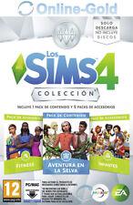 Los Sims 4 Colección: Aventura en la Selva, Fitness e Infantes - PC/MAC - ES