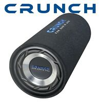Crunch  Bassrolle Bassröhre Tube mit 20cm Bass GTS200 Bassreflex Subwoofer