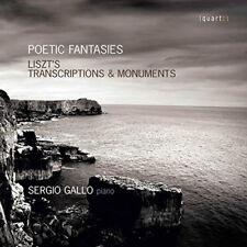 Franz Liszt : Poetic Fantasies CD (2016) ***NEW***