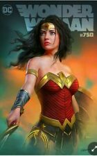 Wonder Woman #750 Exclusive Shannon Maer Variant DC with Sketch COA