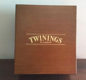 Fantastic Twinnings  Wooden Tea Storage Box