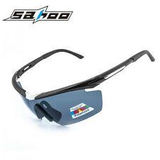 SAHOO Sport Cycling Glasses Eyewear Bike Goggles Fishing Sunglasses UV400 5 Lens