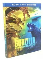Godzilla: King of The Monsters [2019] Blu-ray+DVD+Digital Code with Slipcover