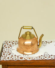 Vintage Early J Getzan Copper Teapot Artisan Dollhouse Miniature 1:12
