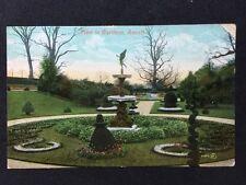 Vintage Postcard - Buckinghamshire #2 - Gardens Ascot - Valentines 1908