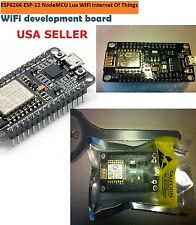 2PCS NodeMcu Lua WIFI Internet of Things development board based ESP8 +FREE SHIP