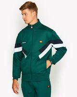 Ellesse Cheroni Retro Ponderosa Green Track Jacket Size M Free Post Rrp £64.99