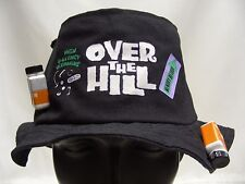 OVER THE HILL - SURVIVAL HAT - ONE SIZE (LIKELY S/M) BUCKET HAT SUN CAP