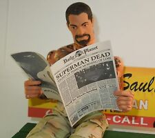 1/6 Scale Newspaper - Daily Planet Superman Dead headline for Clark Kent etc