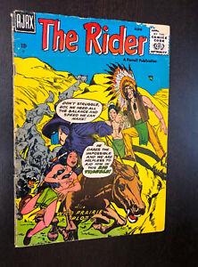 THE RIDER #2 (Ajax / Farrell 1957) -- Silver Age Western -- G/VG