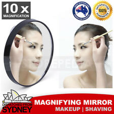 Magnifying Mirror Cosmetic Makeup Shaving Suction Bathroom 10X Magnify Compact