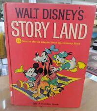 """Walt Disney's Story Land"" Golden Book Hc Vintage 1962 (2.5lb)"