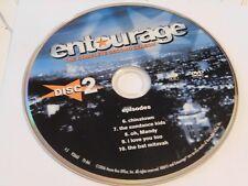 Entourage Second Season 2 Disc 2 DVD Disc Only 44-121