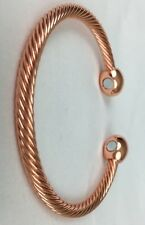 Copper Bracelet Magnetic Men Women's Arthritis Healing Floor Model.