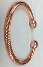 Copper Bracelet Magnetic Men Women's Arthritis Healing Floor Model.