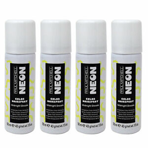 Paul Mitchell- Neon Color Hairspray Midnight Dream 1.5 Oz. (PACK OF 4!!!)