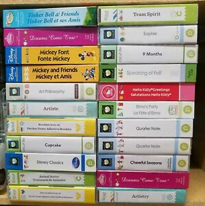 Cricut Cartridges UNLINKED Lots of Rare - YOU PICK FROM 200+ UNLINKED Cartridges