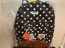 Chinmari Munchkin Cat Ears Kawaii Black Leather backpack