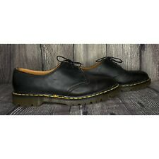 Dr. Martens Black Leather Oxford Lace Up Smooth Shoes Men's Size 12