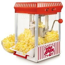 Popcorn Popper Vintage Collection 2.5 oz. Red Kettle Countertop Popcorn Machine