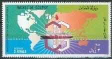 Qatar 1997 ** Mi.1103 Erdgas Schiff Ship Gas Freighter