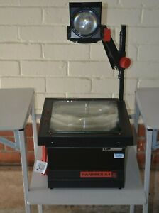 HANIMEX A4 Overhead Projector with large 285x285 mm platen