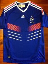 Adidas FRANCE 2010 World Cup M Home Soccer Jersey Football Shirt Débardeur