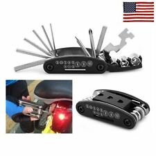 Fashion 15 in 1 Multi-function Bicycle Repair Hand Tool Set Cycling Screwdriver