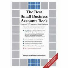The Best Small Business Accounts Book (Blue version): For a non-VAT...