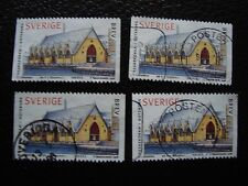 SUEDE - timbre yvert et tellier n° 2023 x4 obl (A29) stamp sweden (E)