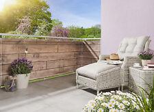 Sicht- und Windschutz, Balkon- und Zaunverkleidung, Holzoptik 0,9 x 3 m,  NEU