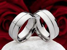 Modeschmuck-Ringe im Band-Stil aus Titan