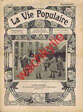 la vie populaire n°105 13/10/1903 L'âme des foules Midinettes Prytanée la Flèche