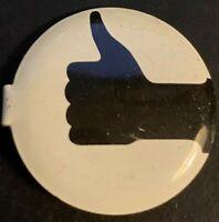 WW2 Thumbs up War Saver Litho Pinback Button PK24